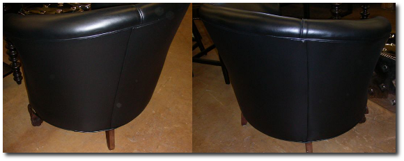 Restored Color Black Chair
