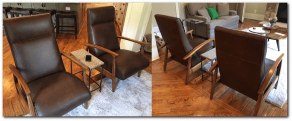 Redleather Re-Upholstry